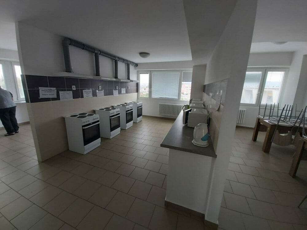 kuchyňa ubytovňa tarif
